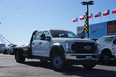 2019 Ford F-550 Crew Cab DRW 4x4, CM Truck Beds RD Model Flatbed #TEF21556 - photo 1