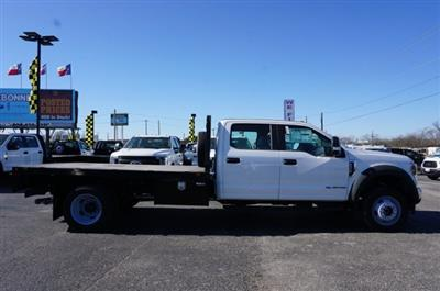 2019 Ford F-550 Crew Cab DRW 4x4, CM Truck Beds RD Model Flatbed #TEF21556 - photo 3