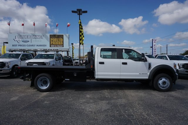 2019 Ford F-550 Crew Cab DRW 4x4, CM Truck Beds Flatbed #TEF25053 - photo 1