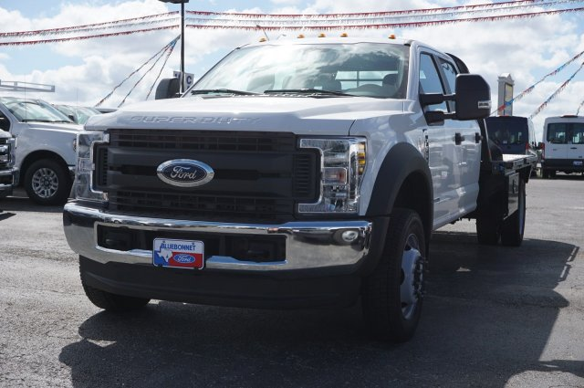 2019 Ford F-550 Crew Cab DRW 4x4, CM Truck Beds Dealers Truck Flatbed #TEF25053 - photo 4