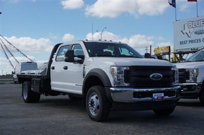 2019 Ford F-550 Crew Cab DRW 4x4, CM Truck Beds Dealers Truck Flatbed #TEF25053 - photo 1