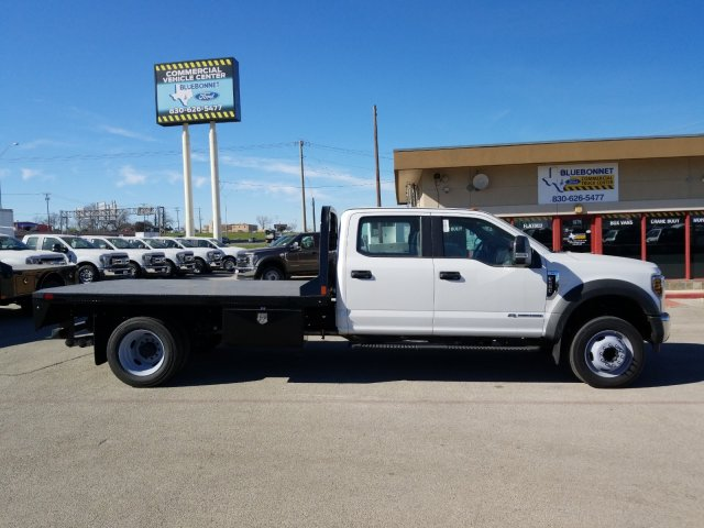 2019 Ford F-550 Crew Cab DRW 4x2, CM Truck Beds RD Model Flatbed #TEF53724 - photo 3