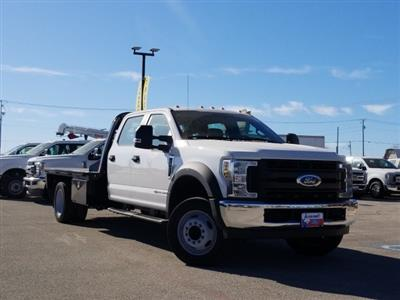 2019 Ford F-550 Crew Cab DRW 4x2, CM Truck Beds RD Model Flatbed #TEF53724 - photo 1