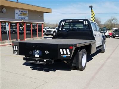 2019 Ford F-550 Crew Cab DRW 4x2, CM Truck Beds RD Model Flatbed #TEF53724 - photo 2