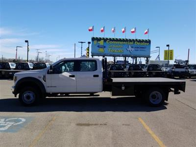 2019 Ford F-550 Crew Cab DRW 4x2, CM Truck Beds RD Model Flatbed #TEF53724 - photo 7
