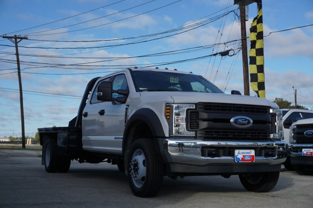 2019 Ford F-550 Crew Cab DRW 4x2, CM Truck Beds Platform Body #TEF61781 - photo 1
