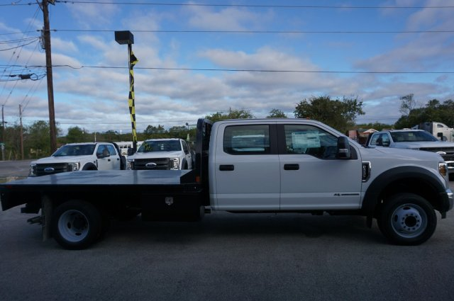 2019 Ford F-550 Crew Cab DRW 4x2, CM Truck Beds RD Model Flatbed #TEF61781 - photo 4