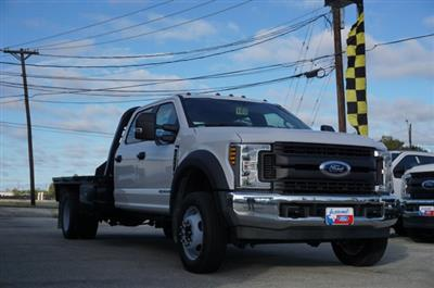 2019 Ford F-550 Crew Cab DRW 4x2, CM Truck Beds RD Model Flatbed #TEF61781 - photo 1