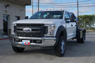 2019 Ford F-550 Crew Cab DRW 4x2, CM Truck Beds RD Model Flatbed #TEF61781 - photo 7