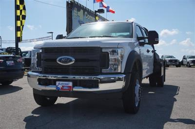 2019 Ford F-550 Crew Cab DRW RWD, CM Truck Beds RD Model Flatbed #TEF61783 - photo 2