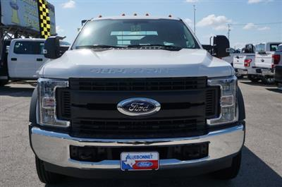 2019 Ford F-550 Crew Cab DRW RWD, CM Truck Beds RD Model Flatbed #TEF61783 - photo 3