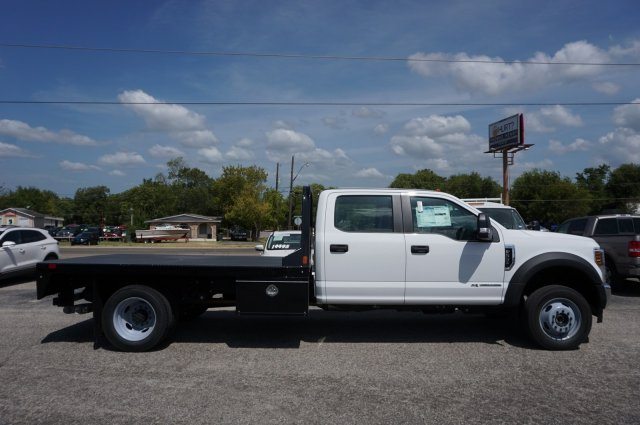 2019 Ford F-550 Crew Cab DRW 4x4, CM Truck Beds RD Model Flatbed #TEF66495 - photo 4