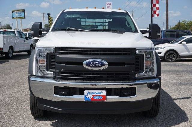 2019 Ford F-550 Crew Cab DRW 4x4, CM Truck Beds RD Model Flatbed #TEF66495 - photo 8