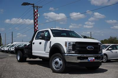 2019 Ford F-550 Crew Cab DRW 4x4, CM Truck Beds RD Model Flatbed #TEF66495 - photo 3