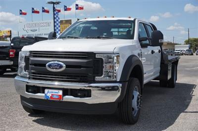 2019 Ford F-550 Crew Cab DRW 4x4, CM Truck Beds RD Model Flatbed #TEF66495 - photo 7
