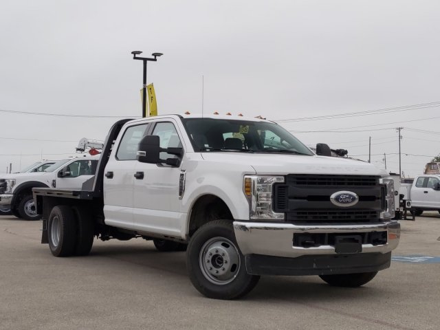 2019 Ford F-350 Crew Cab DRW 4x4, CM Truck Beds Platform Body #TEF85617 - photo 1