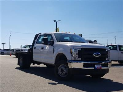 2019 Ford F-350 Crew Cab DRW 4x4, CM Truck Beds RD Model Flatbed #TEF85618 - photo 1