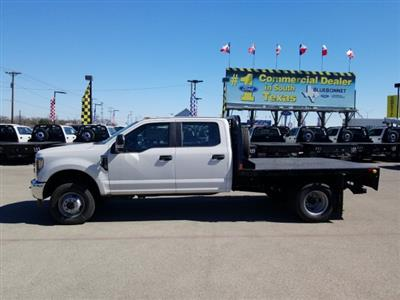 2019 Ford F-350 Crew Cab DRW 4x4, CM Truck Beds RD Model Flatbed #TEF85618 - photo 7