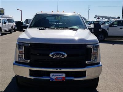 2019 Ford F-350 Crew Cab DRW 4x4, CM Truck Beds RD Model Flatbed #TEF85618 - photo 9