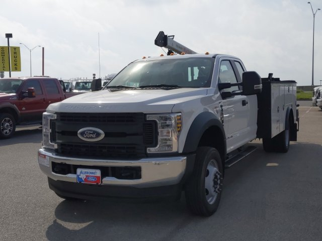 2019 Ford F-450 Super Cab DRW 4x4, Palfinger PAL Pro 20 Service Body #TEF89816 - photo 3