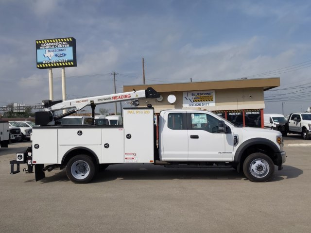 2019 Ford F-450 Super Cab DRW 4x4, Palfinger PAL Pro 20 Service Body #TEF89816 - photo 6