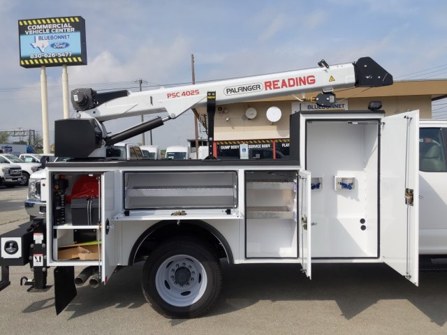 2019 Ford F-450 Super Cab DRW 4x4, Palfinger PAL Pro 20 Service Body #TEF89816 - photo 7