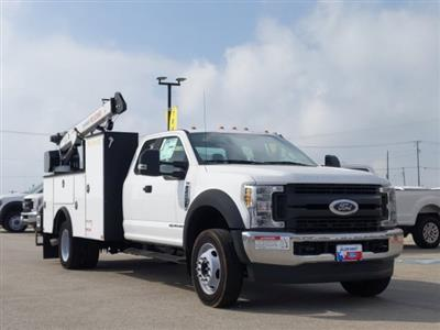 2019 Ford F-450 Super Cab DRW 4x4, Palfinger PAL Pro 20 Service Body #TEF89816 - photo 1
