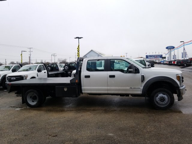 2019 Ford F-550 Crew Cab DRW 4x4, CM Truck Beds RD Model Flatbed #TEG58301 - photo 3