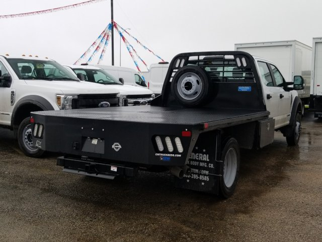 2019 Ford F-550 Crew Cab DRW 4x4, CM Truck Beds RD Model Flatbed #TEG58301 - photo 2