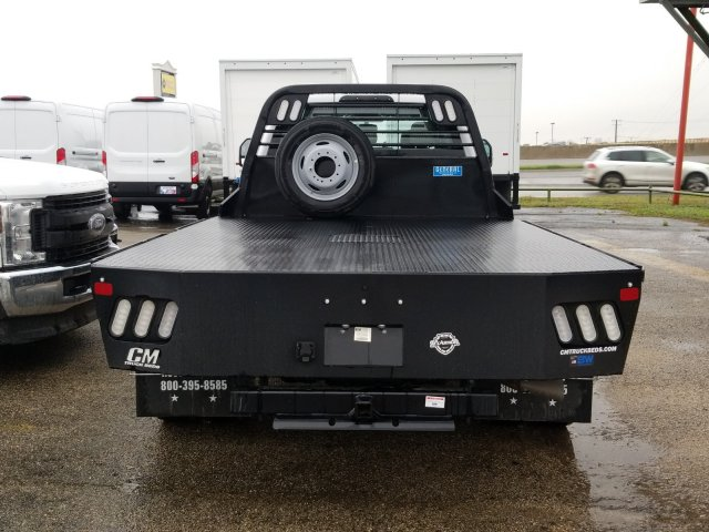 2019 Ford F-550 Crew Cab DRW 4x4, CM Truck Beds RD Model Flatbed #TEG58301 - photo 4