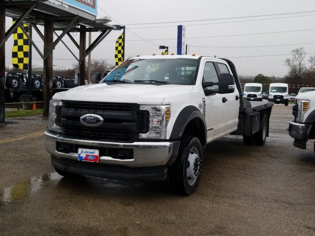 2019 Ford F-550 Crew Cab DRW 4x4, CM Truck Beds RD Model Flatbed #TEG58301 - photo 6