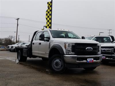 2019 Ford F-550 Crew Cab DRW 4x4, CM Truck Beds RD Model Flatbed #TEG58301 - photo 1