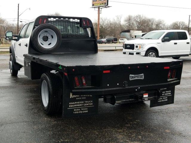 2019 Ford F-550 Crew Cab DRW 4x4, General Truck Body Gooseneck Flatbed #TEG58305 - photo 6