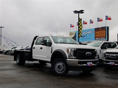 2019 Ford F-550 Crew Cab DRW 4x4, General Truck Body Gooseneck Flatbed #TEG58305 - photo 1