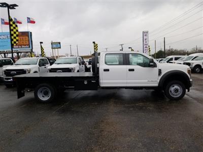 2019 Ford F-550 Crew Cab DRW 4x4, General Truck Body Gooseneck Flatbed #TEG58305 - photo 4