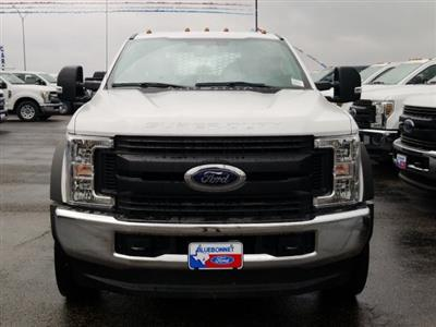 2019 Ford F-550 Crew Cab DRW 4x4, General Truck Body Gooseneck Flatbed #TEG58305 - photo 8