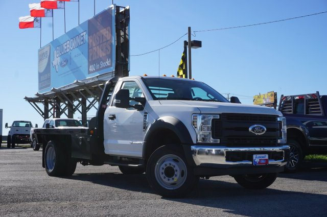 2019 Ford F-550 Regular Cab DRW 4x2, Freedom Platform Body #TEG58740 - photo 1