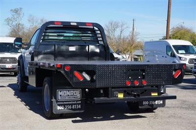 2019 Ford F-550 Regular Cab DRW 4x2, Freedom Rodeo Flatbed #TEG58740 - photo 5