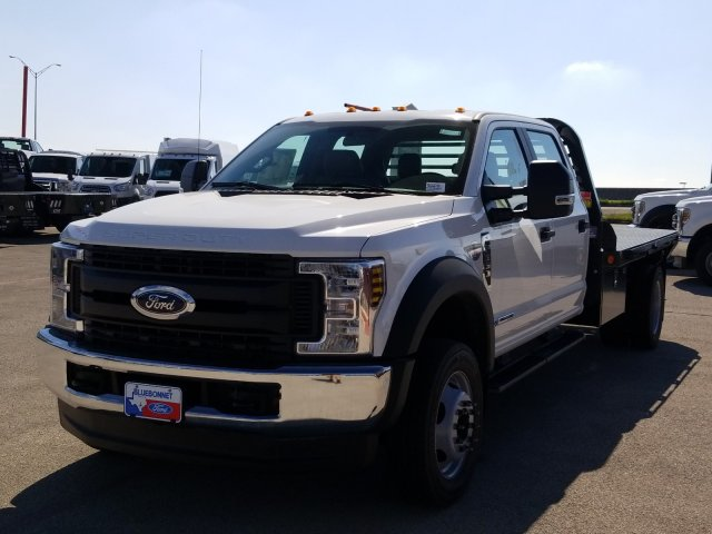 2019 Ford F-550 Crew Cab DRW 4x4, Freedom Rodeo Flatbed #TEG58749 - photo 10