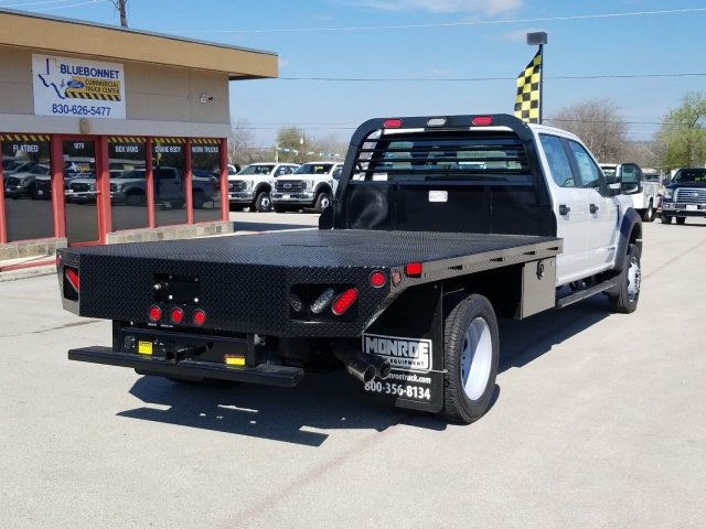 2019 Ford F-550 Crew Cab DRW 4x4, Freedom Rodeo Flatbed #TEG58749 - photo 2