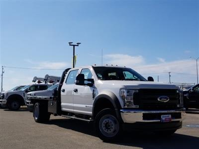 2019 Ford F-550 Crew Cab DRW 4x4, Freedom Rodeo Flatbed #TEG58749 - photo 1