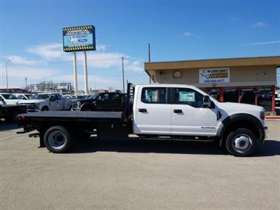 2019 Ford F-550 Crew Cab DRW 4x4, Freedom Rodeo Flatbed #TEG58749 - photo 4