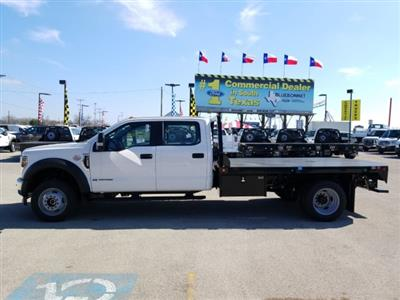 2019 Ford F-550 Crew Cab DRW 4x4, Freedom Rodeo Flatbed #TEG58749 - photo 8