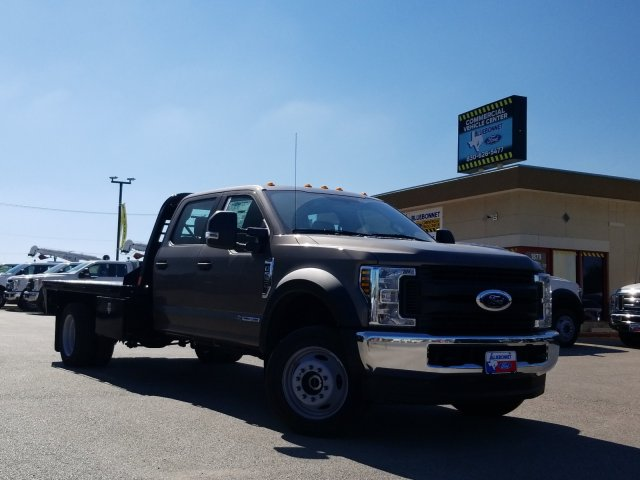 2019 Ford F-550 Crew Cab DRW 4x4, CM Truck Beds RD Model Flatbed #TEG73057 - photo 1