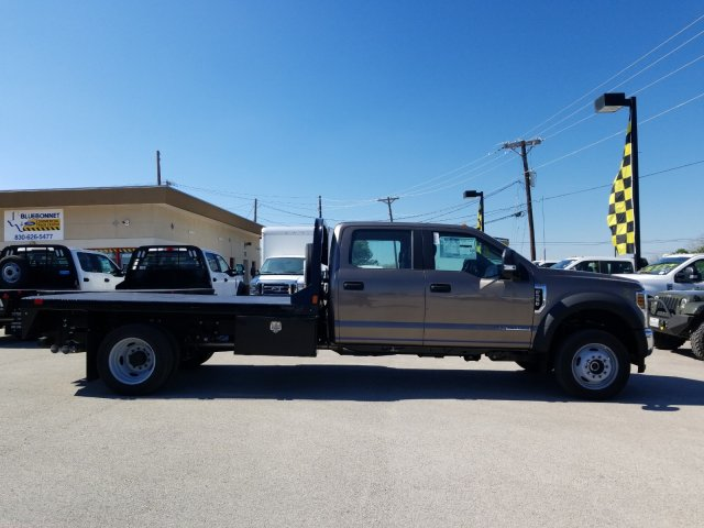 2019 Ford F-550 Crew Cab DRW 4x4, CM Truck Beds RD Model Flatbed #TEG73057 - photo 3