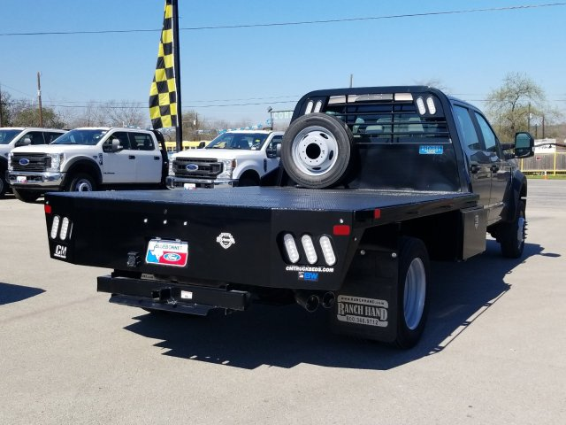 2019 Ford F-550 Crew Cab DRW 4x4, CM Truck Beds RD Model Flatbed #TEG73057 - photo 2