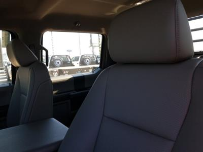 2019 Ford F-550 Crew Cab DRW 4x4, CM Truck Beds RD Model Flatbed #TEG73057 - photo 14