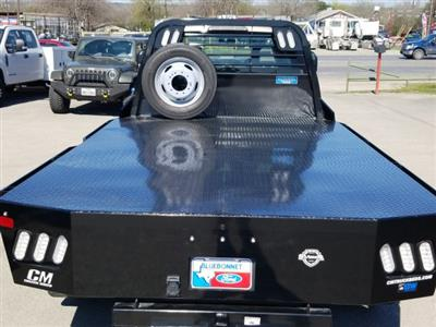 2019 Ford F-550 Crew Cab DRW 4x4, CM Truck Beds RD Model Flatbed #TEG73057 - photo 6