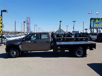 2019 Ford F-550 Crew Cab DRW 4x4, CM Truck Beds RD Model Flatbed #TEG73057 - photo 8