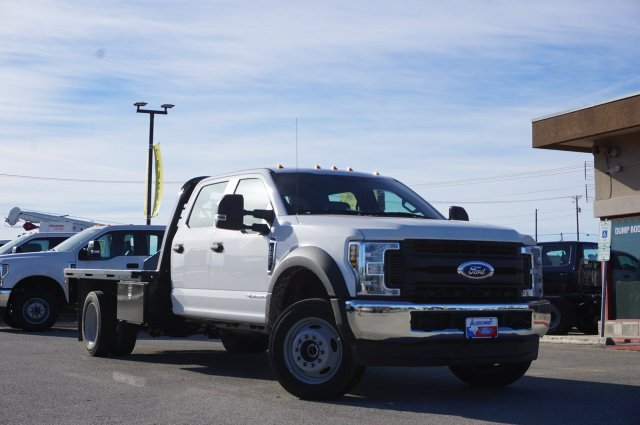 2019 Ford F-550 Crew Cab DRW 4x4, CM Truck Beds Flatbed #TEG80109 - photo 1